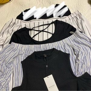 Tops - bundle of 4 medium long sleeves!